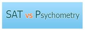 SAT vs Psychometry